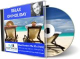 RELAX ON HOLIDAY Hypnosis CD - Your wonderful companion to releasing all tension and allowing you to truly enter the reals of wonderful relaxation have a wonderful vacation!